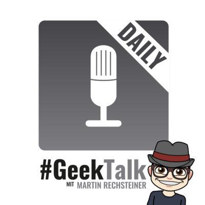 0945 #GeekTalk Daily mit Martin Rechsteiner zu Threema, Signal und Samsung