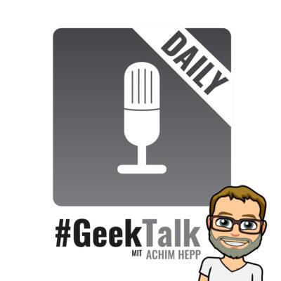 0906 #GeekTalk Daily mit Achim Hepp zu Videocalls bei Tinder