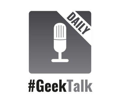 #GeekTalk Daily Podcast Logo Gross