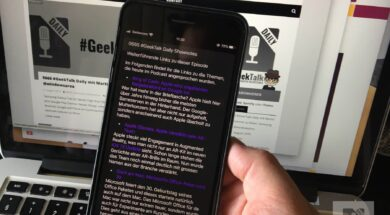 GeekTalk Daily – Shownotes Experiment