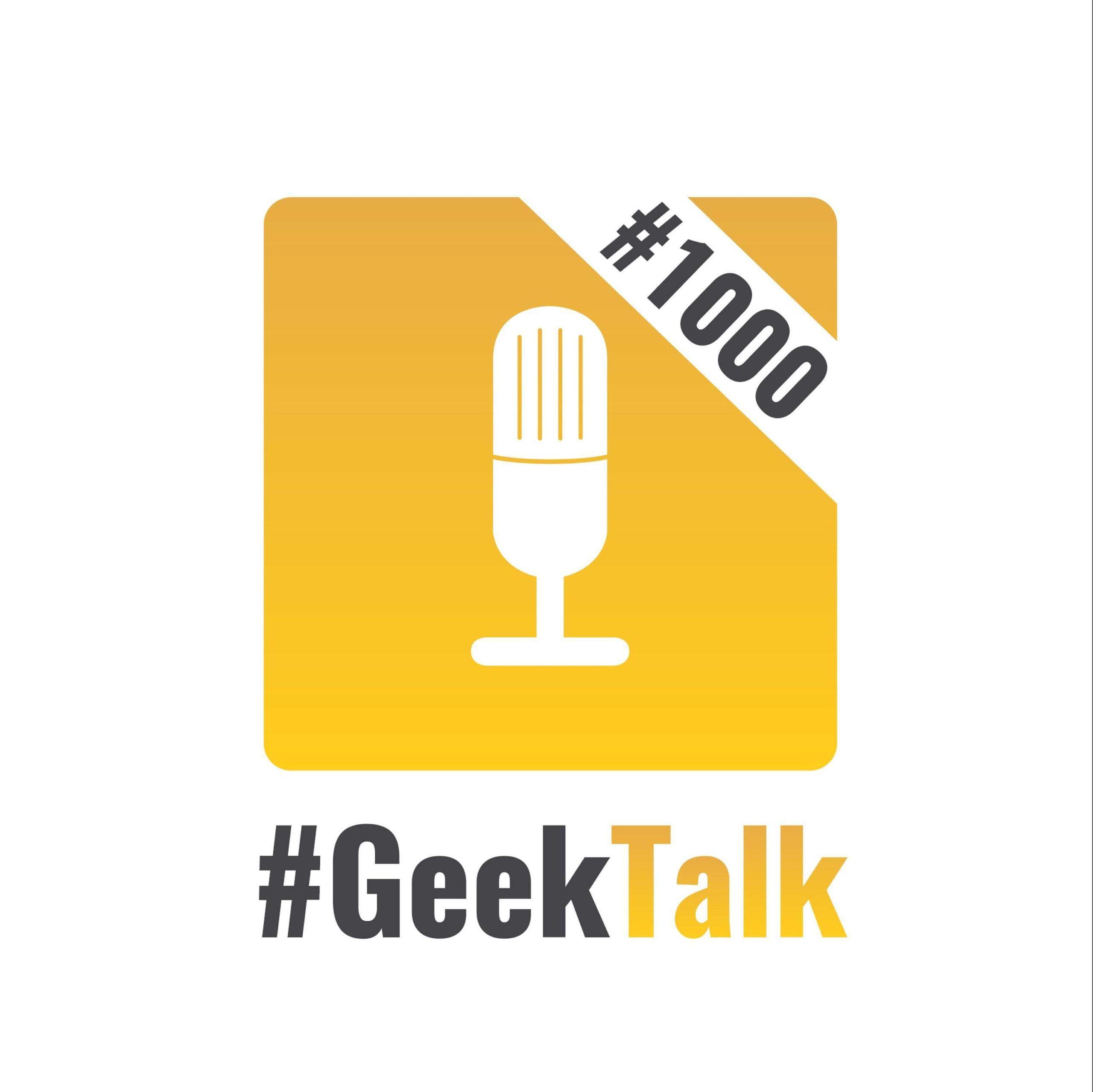 1000 #GeekTalk Daily mit Achim und Martin Rechsteiner zur 1000. #GeekTalk Daily Episode